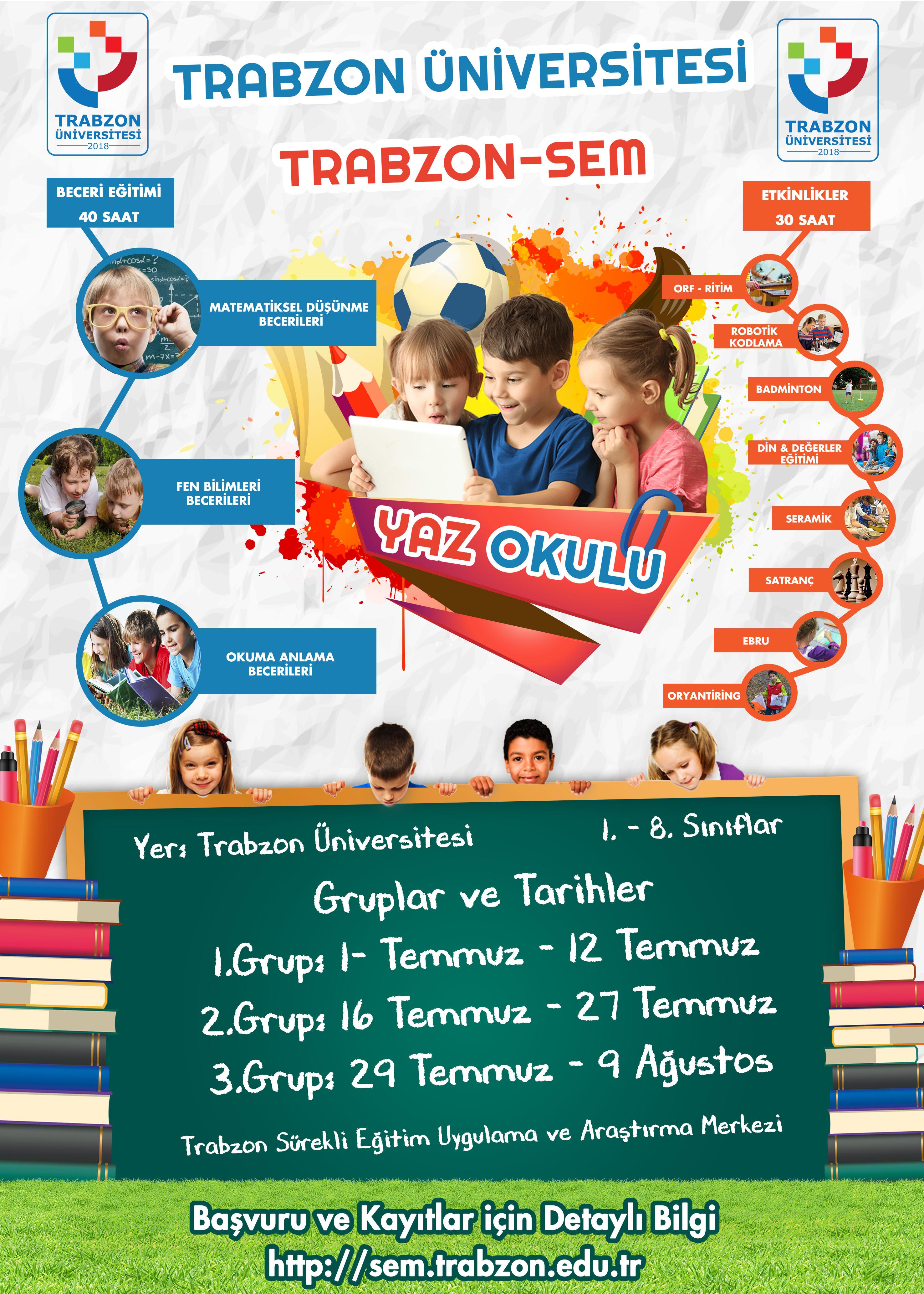 Trabzon-SEM Yaz Okulu