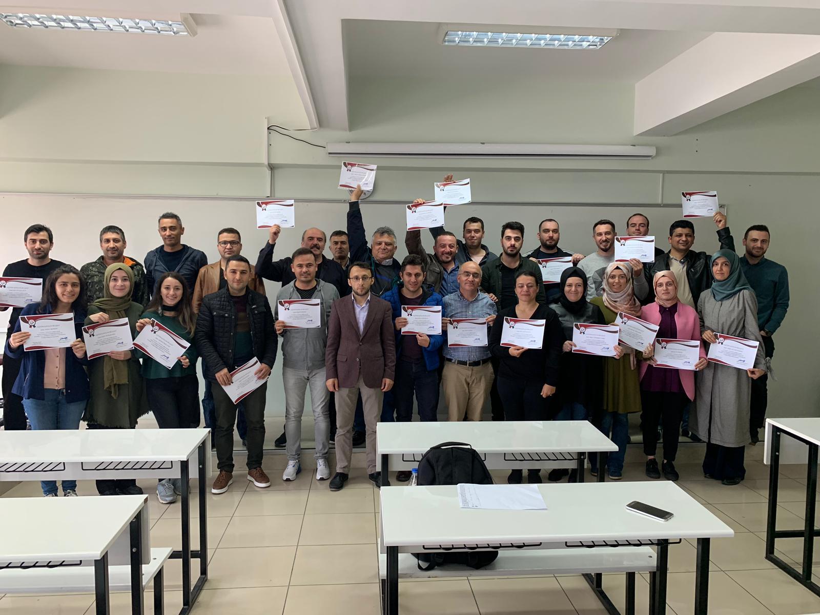 Ceza Muhakemesinde Uzlaştırmacı Eğitimi 4.Kur Başarı ile Tamamlandı